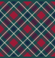 tartan plaid fabric texture seamless pattern vector image vector image