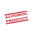 Alcohol Product Watermark Stamp vector image