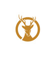 deer icon design vector image