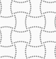 Dotted rectangles vector image vector image