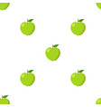 green apples seamless background pattern with vector image vector image