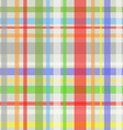 Seamless plaid pattern-grey vector image vector image