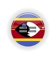 Swaziland icon circle vector image vector image