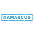 Damascus Rubber Stamp vector image vector image