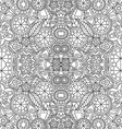Floral Pattern Hand Drawn Texture with Flowers vector image vector image