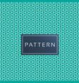 minimal rhombuse pattern green background i vector image vector image