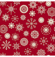 seamless winter pattern vector image vector image
