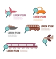 search for a perfect transportation vector image