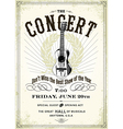 Vintage concert poster vector | Price: 1 Credit (USD $1)