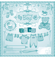 baboy childbirth vector image vector image