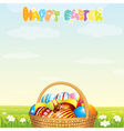 Happy easter vector | Price: 3 Credits (USD $3)
