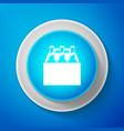 pack of beer bottles icon on blue background vector image