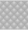 seamless circle linear pattern geometric weave vector image vector image