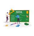 teacher male character explain mathematics