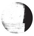 distress circular texture vector image vector image