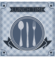 fork spoon knife background vector image
