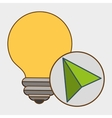idea cursor icon vector image vector image