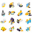 man work icons set isometric style vector image vector image