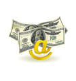 Money transfer vector image vector image