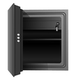 open the safe vector image vector image
