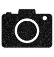 Photo Camera Grainy Texture Icon vector image vector image