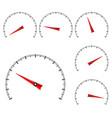 universal semi-circle scales vector image vector image