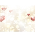 Valentines day or Wedding background EPS 10 vector image vector image