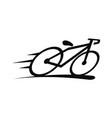 bike logo design template vector image