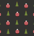 christmaspattern vector image vector image