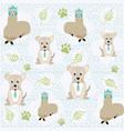 cute animals pattern background