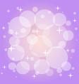 festive pattern in violet color vector image vector image