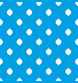 quince fruit pattern seamless blue vector image vector image