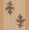 vintage leaves vector image vector image