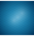 Abstract Blue Dotted Steel - Plastic Background vector image