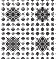 abstract ethnic seamless floral pattern design vector image