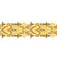 Creative ethnic stripe seamless ornament
