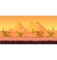 Desert Game Background vector image vector image