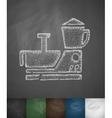 food processor icon vector image