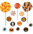 Halloween sweets vector image