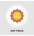 Hot Price flat icon vector image vector image