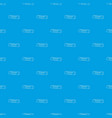 insurance policy pattern seamless blue vector image vector image