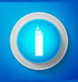 lighter icon isolated on blue background vector image vector image