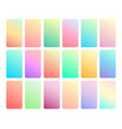 soft color background vector image