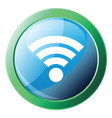 wi-fi icon on a white background vector image vector image