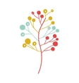 Branches with leaves decoration vector image vector image