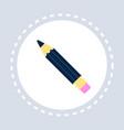 classic pencil creative designer equipment concept vector image