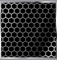 honeycomb pattern hexagonal vector image vector image