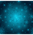 Seamless gradient christmas pattern vector image