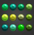 Shiny bubbles-1 vector image vector image