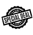 special deal rubber stamp vector image vector image